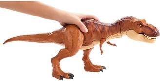 Mattel Jurassic World Thrash 'N Throw Tyrannosaurus Rex Figure