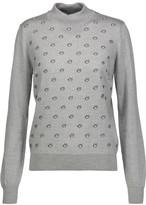 Markus Lupfer Embroidered wool turtleneck sweater