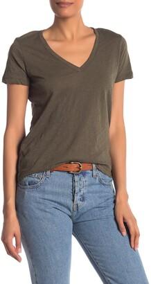 Madewell V-Neck Short Sleeve T-Shirt