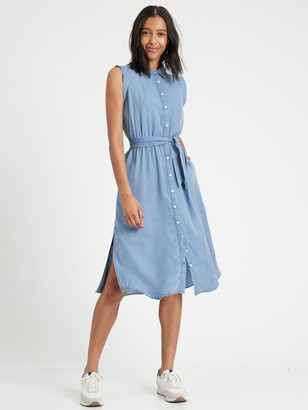 Banana Republic TENCEL Shirtdress