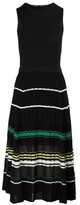 Proenza Schouler Silk-blend waisted dress