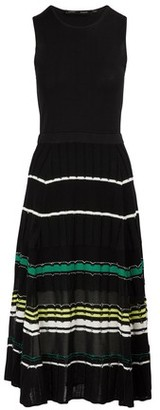 Proenza Schouler Silk-blend waisted dress