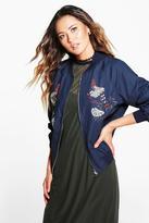 Boohoo Boutique Maria Embellished Bomber Jacket