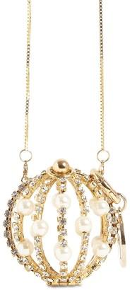 Rosantica Baby Sasha Embellished Necklace Bag