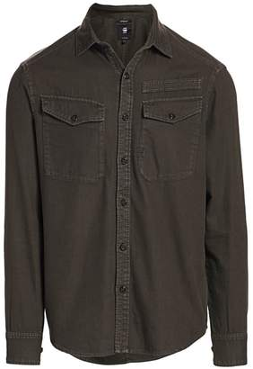 G Star Raw Button-Down Pocket Shirt