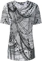 Alexander McQueen - printed T-shirt