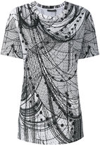 Alexander McQueen printed T-shirt - women - Cotton - 38