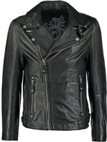 Gipsy Marlon Leather Jacket Schwarz