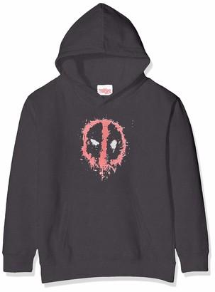 Marvel Girl's Deadpool Splat Face Hoodie
