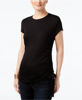 INC International Concepts Ruched T-Shirt, Created for Macy's