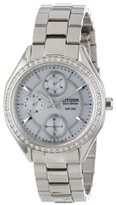 Citizen Women's Drive from Eco-Drive POV 2.0 Stainless Steel Swarovski Crystal-Accented Watch