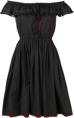 Miu Miu off the shoulder dress