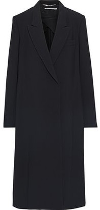 Stella McCartney Nina Satin-trimmed Twill Coat