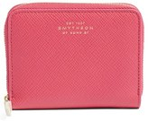 Smythson Women's 'Panama' Leather Coin Case - Pink