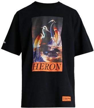 Heron Preston Graphic Print Jersey T-Shirt