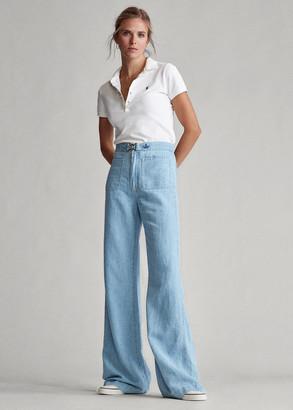 Ralph Lauren Margery Wide-Leg Jean
