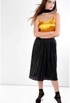 Glamorous Gold Satin Cami Top