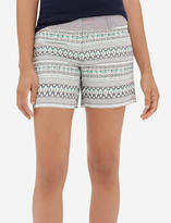 The Limited Patterned Easy Shorts