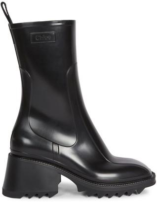 Chloé Betty PVC Rain Boots
