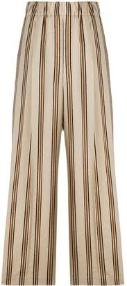 Jejia Striped Print Palazzo Trousers