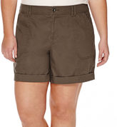 A.N.A a.n.a Roll-Cuff Cargo Shorts - Plus