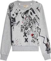 Burberry Gavarresa Doodle Cotton Sweatshirt