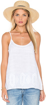 Michael Stars Embroidery Cami Swing Tank