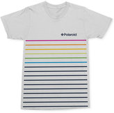 Mighty Fine Men's Polaroid Stripe Graphic-Print Logo Cotton T-Shirt