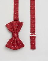 Asos Holidays Bow Tie With Present Design