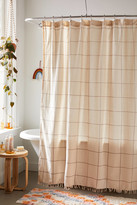Urban Outfitters Grid Shower Curtain