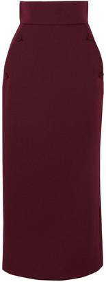 Sara Battaglia Cady Midi Pencil Skirt