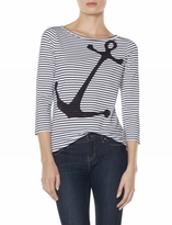 The Limited Striped Anchor Tee