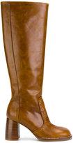 Joseph heeled knee boots