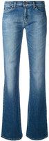 Armani Jeans flared jeans - women - Cotton/Spandex/Elastane - 28