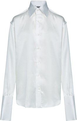 Woera Signature Silk Button-Up