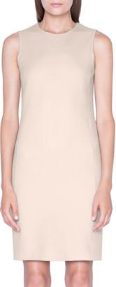 Akris Cashmere Flannel Sleeveless Dress