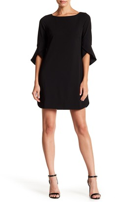 Vince Camuto Tulip Bell Sleeve Dress (Petite)
