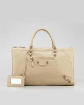 Giant 12 Rose Golden Work Bag, Latte