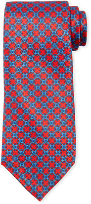 Stefano Ricci Men's Large Square Medallion Silk Tie