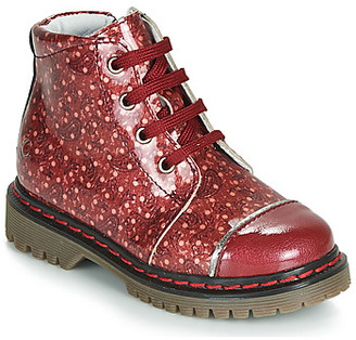 GBB NEVA girls's Mid Boots in Red