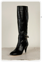 Emmy D-Ring Boot in Black