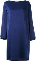 Erika Cavallini - flared sleeves shift dress - women - Polyester/Acetate - 40