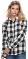 SO Juniors' SO® Plaid Lurex Shirt