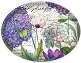 Michel Design Works Glass Soap Dish, Hydrangea
