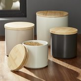 Crate & Barrel Silo Canisters
