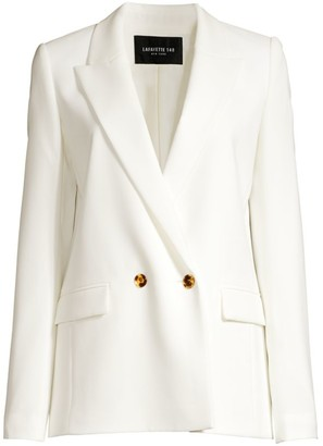 Lafayette 148 New York Penn Double-Breasted Jacket