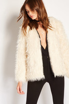 Forever 21 FOREVER 21+ Shaggy Faux Fur Coat
