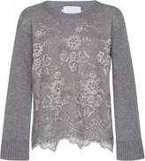 Luisa Beccaria Needled Cashmere Pullover