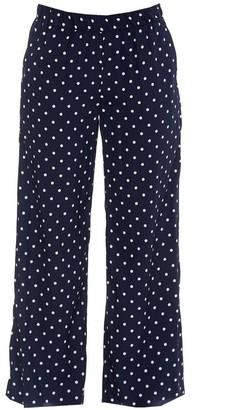P.A.R.O.S.H. Flared Polka Dot Trousers