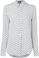 Joseph 'New Garçon' bird print shirt - women - Silk - 44